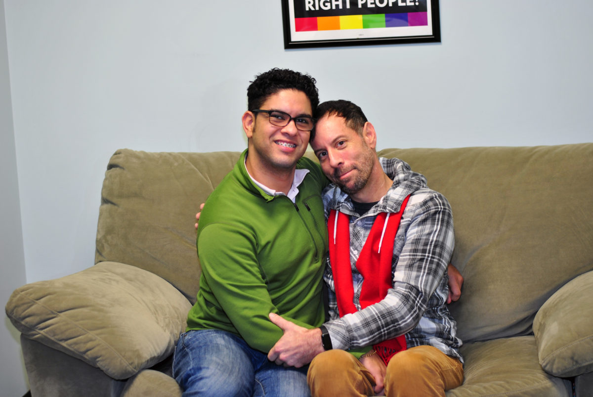 after ICE scare Luis and Sean try to pick up the pieces Basic Rights Oregon LGBTQ LGBT gay rights immigration